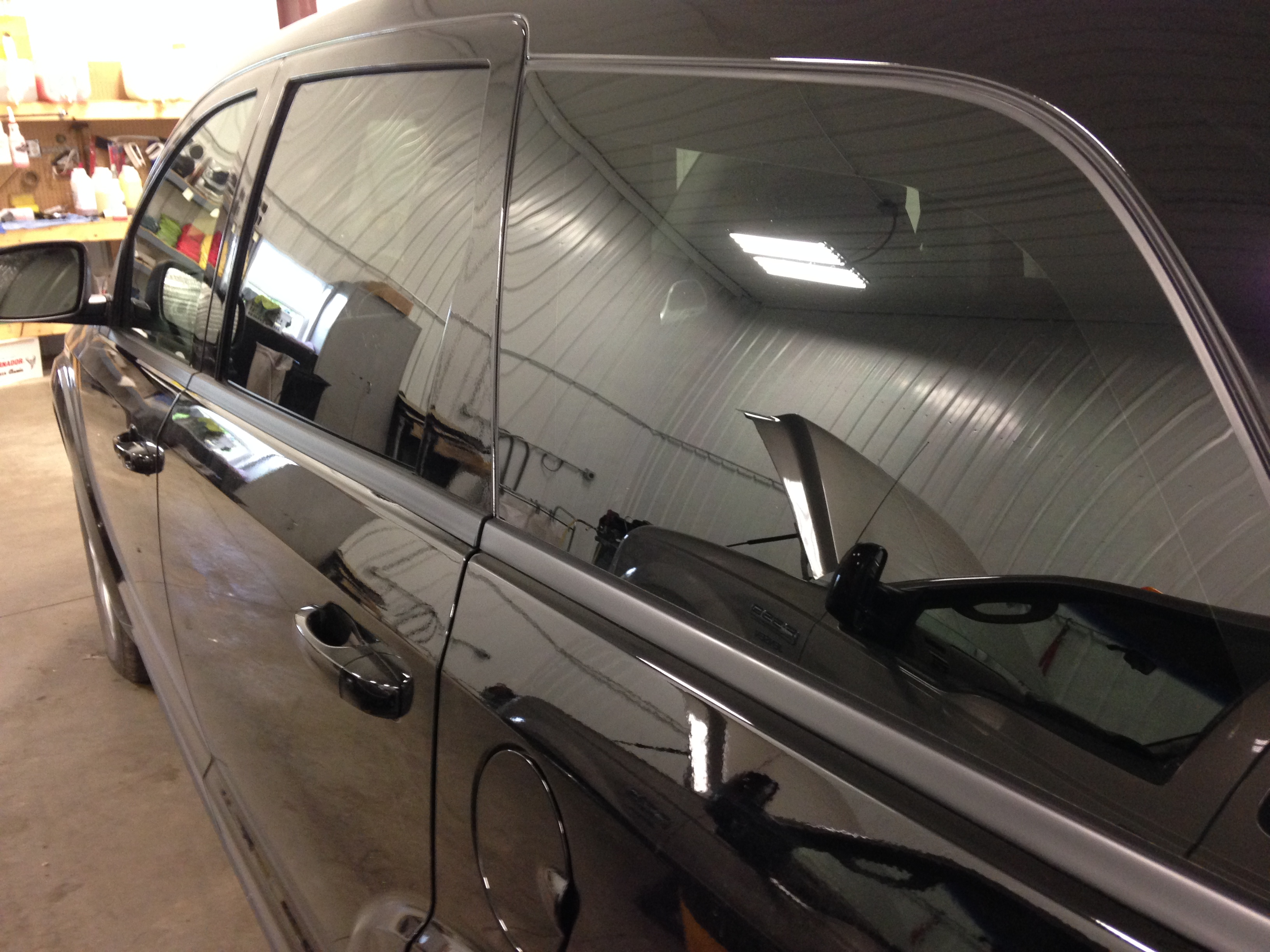 Window Tint Van